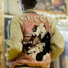 See every look from the Gucci Cruise 2018 runway.