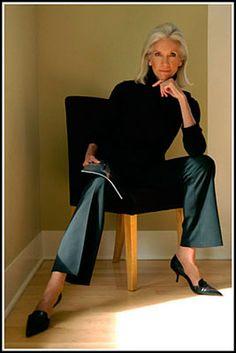 Valerie Ramsey - started modeling in her 60s