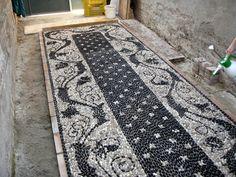 MUSIVARIUS: Corso di Rissëu, mosaico di ciottoli della tradizione Ligure, Ravenna 2011