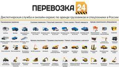 Перевозка 24 - диспетчерская служба грузоперевозок. Perevozka24 - сервис...