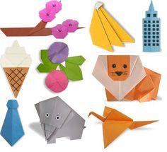 Origami básico para crianças _ http://www.comofazerorigami.com.br/