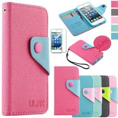 online store caa2c d483f iPod 5th Generation Cases for Girls | HHI Flip Wallet Case with ...