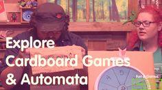 Maker Camp 2015 - Explore Cardboard Games & Automata