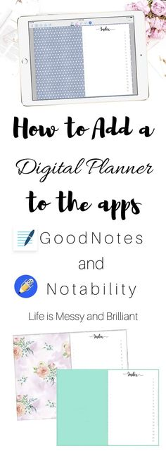 GoodNotes | Digital Planners for GoodNotes | iPad Planner | Digital Calendars | WhatWendySaid | DigitalPlannerStore | WhatWendySaid.com