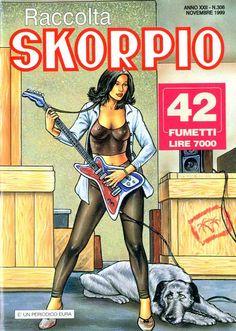 Fumetti EDITORIALE AUREA, Collana SKORPIO RACCOLTA n°306 NOVEMBRE 1999