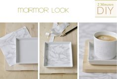 s i n n e n r a u s c h: Wohntrend: Marmor + Mini DIY