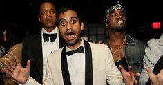 Jay-Z, Aziz, Kanye