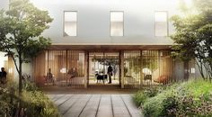 WE+architecture+and+Creo+Arkitekter+Shares+First+Prize+for+Danish+Psychiatric+Hospital
