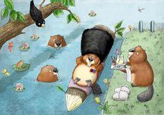 Tim Budgen - professional children's illustrator, view portfolio