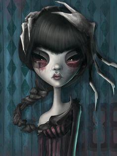 Scorpio - Afterland character( Elin Jonsson )for Imaginary Games Dark Art Illustrations, Illustration Art, Scorpio Art, Unique Drawings, Arte Horror, Horror Art, Photo D Art, Weird Art, Strange Art
