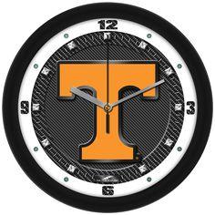 Tennessee Volunteers-Carbon Fiber Textured Wall Clock