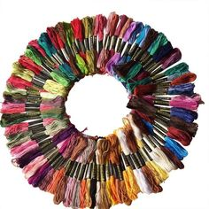 00 DMC Cotton Embroidery Floss - Complete Set (472 Colors)