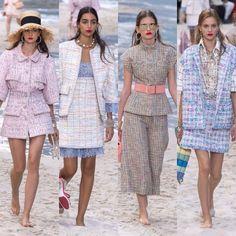 Chanel – Ready to Wear – Passarelando Fashion Week 2018, Chanel, Peplum Dress, Cruise, Ready To Wear, Elegant, Chic, How To Wear, Dresses