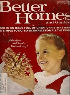 A Humorous Look Back At A Vintage 1966 Better Homes And Gardens Magazine.  #humor