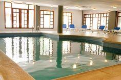 Zona Spa (incluye: piscina climatizada, jacuzzi, baño turco i duchas ciclónicas) - Hotel Marvel Condes del Pallars***