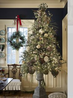 Nell Hills Christmas Tree From 2012 Open House. Please like us on Facebook.com/rowhouseeventsandinteriors