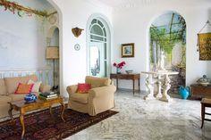 The most breathtaking views of Sorrento and Capri. Easy access to Pompei, Herculaneum and the entire Amalfi Coast Sorrento, Amalfi Coast, Fresco, Terrace, Villa, Traveling, Marble, Furniture, Design