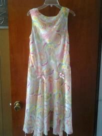 disorderly kids dress for girls chiffion very cute size 16-12 free ship for 13.99