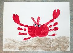 handprint animal art