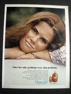 Vintage Bonne Bell Ten-O-Six 70's Ad.      I used this stuff ALL THE TIME during middle and highschool.  It smelled so good. Then, I discovered Clinique :-).