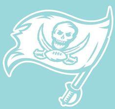 Tampa Bay Buccaneers Football Decals