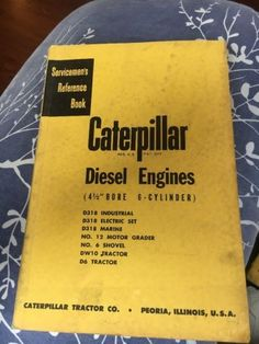 Available on ebay caterpillar d330 diesel engine runs exc d4d dozer available on ebay ebay caterpillar diesel engines shop repair service manual cat d6 fandeluxe Image collections