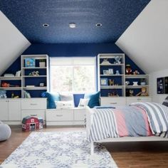From tots to teens, STOR-X custom closets can help organize the messiest of rooms and find your floor space again! Book a complimentary consultation. Room, Blue Rooms, Loft Bed, Home Decor, Custom Closets, Organizing Systems, Interior Design, Custom Storage Solutions, Custom Closet Storage