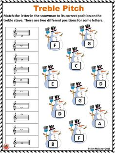 CHRISTMAS Themed Music Worksheets This PDF file contains 24 music worksheets covering FIVE different concepts. Learning Music Notes, Music Math, Music Classroom, Music Education, Physical Education, Music Teachers, Health Education, Music Lessons For Kids, Music For Kids