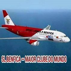 Coisas do Benfica, avião (Things of the SLBenfica - Airplane - Can you believe it???)