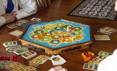 Settlers of Catan Store & Play Board