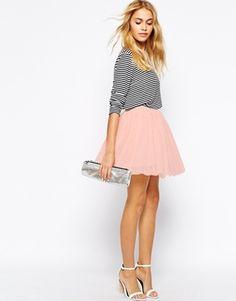 Agrandir Fashion Union - Mini jupe de bal de fin d'année en tulle