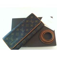 f472c32004 Louis Vuitton Monogram Canvas Convertible Clutch Bag Authentic Louis  Vuitton Bags