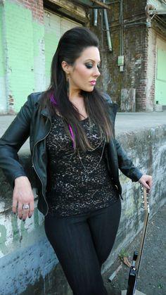Rocker Chic Look