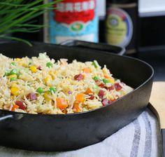 riz cantonais : la vrai recette de cuisine chinoise