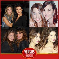 ¿Cuál de estas hermanas cree usted son las más queridas en el país?