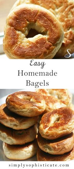 Easy Homemade Bagels