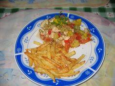 Heni modern konyhája: Párolt csirkemell cukkinivel