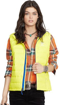 Ralph Lauren RLX Explorer Down-Filled Vest  $185.00 $73.82