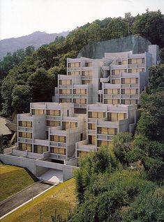 Rokko Residential Conjunction, Kobe, Japan