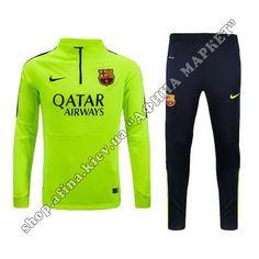 Футбольный костюм тренировочный Барселона Nike Third 2014-2015 | Спортивные костюмы Barselona | Интернет-магазин футбольной атрибутики Киев Украина