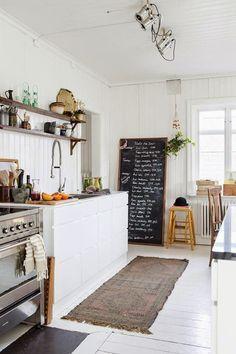 black + white + woody / Farmhouse Modern