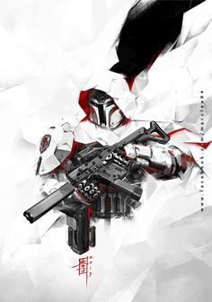 Star Wars Mandalorian with Kriss Vector Star Wars Pictures, Star Wars Images, Star Citizen, Trajes Star Wars, Rpg Star Wars, Kriss Vector, Star Wars Personajes, Mandalorian Armor, Sci Fi Armor