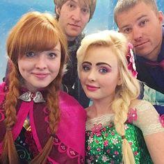 Frozen Sisters. Real life Frozen sisters #frozen #frozenunfolded #cosplay #elsa #anna #elsaandAnna #disney #disneyfrozen #frozencosplay #elsacosplay #annacosplay #elsalookalike #annalookalike #frozenunfoldedsisters #frozenunfolded #reallifesisters #realelsa #realanna