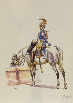 French Carabinier, trumpeter of 1st Regiment, 1809-1813