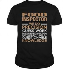 FOOD-INSPECTOR #teeshirt #T-Shirts. MORE INFO => https://www.sunfrog.com/LifeStyle/FOOD-INSPECTOR-138581471-Black-Guys.html?60505