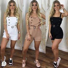 Fashion 2019 New Moda Style - fashion Chic Outfits, Trendy Outfits, Trendy Fashion, Korean Fashion, Summer Outfits, Womens Fashion, Ootd Fashion, Neue Trends, Ideias Fashion