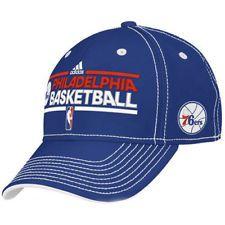 e7c3a113355ab Adidas NBA Men s Philadelphia 76ers Practice Graphic Flex Adidas Hat