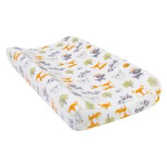 Trend Lab Forest Pals Plush Changing Pad Cover