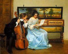 John Seymour Lucas (1849-1923)  —  Pause (1125x900)