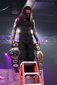 Jeff Hardy TNA World Heavyweight Champion of the World